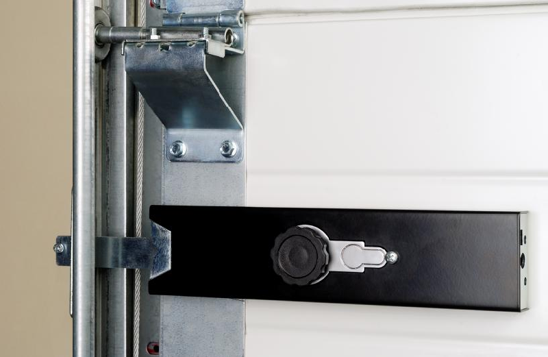 Verrou de porte de garage fl haute s curit verrouillage par cl - Porte de garage anti effraction ...