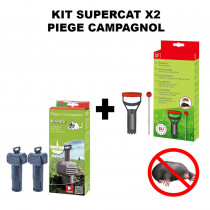 kit supercat X2 piege campagnol