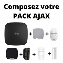 Pack Alarme Ajax 100% Configurable