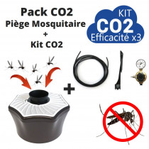 pack anti moustique mosquitaire CO2