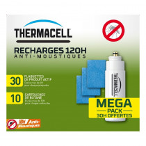 Recharge repulsif moustique 120 Heures Thermacell