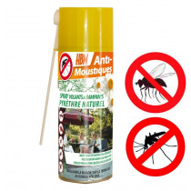 Spray anti moustique et nuisibles naturel