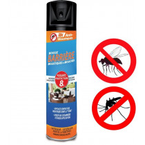 Spray barrage anti moustique et anti mouche