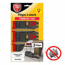 Pack tapette souris armement facile