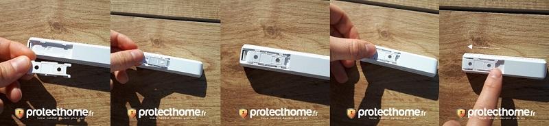 Clipser support DoorProtectPlus