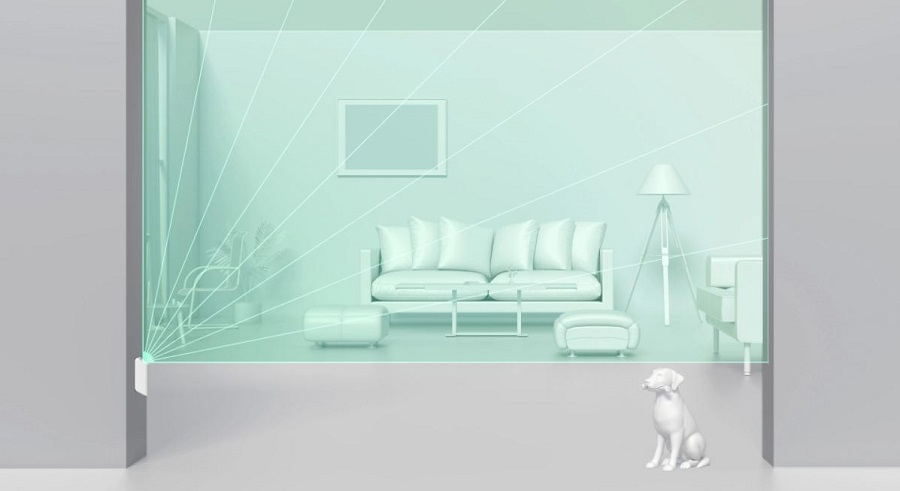 Motion protect curtain AJAX animaux
