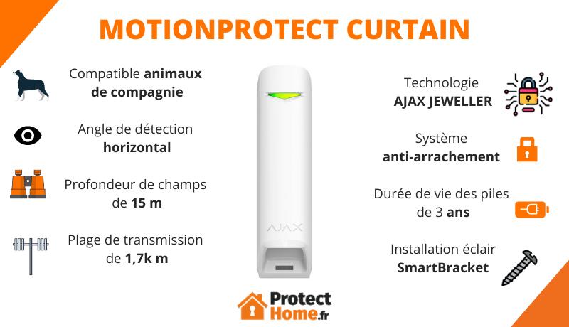 MotionProtect Curtain AJAX