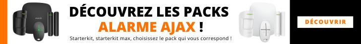Sélectionner le bon pack alarme AJAX