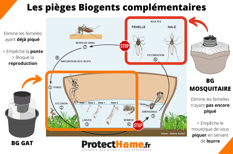 piege anti moustique biogents