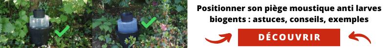 Positionner appareil anti moustique et larves