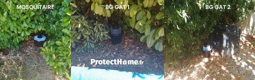placer le piege anti moustique exterieur
