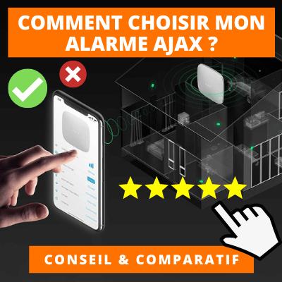 comment choisir son alarme ajax ?