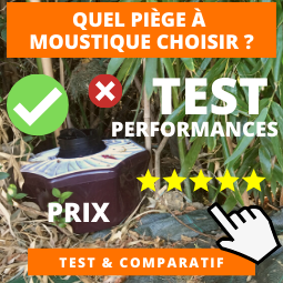 Comparatif piege moustique
