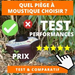 Comparatif piege moustique
