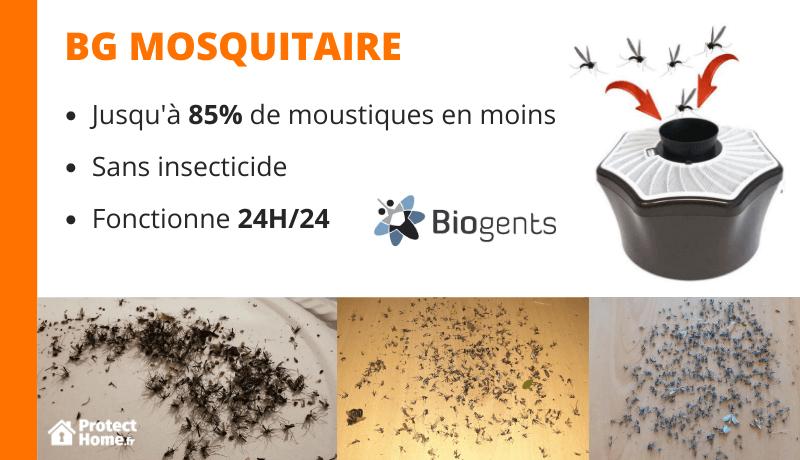 test piege moustique mosquitaire biogents